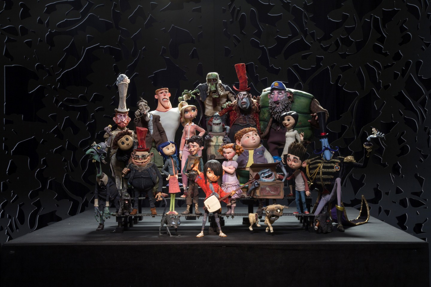 The characters of LAIKA's films. On LAIKA's fifth film they will be utilizing the powerful universal print driver Cuttlefish from Fraunhofer IGD